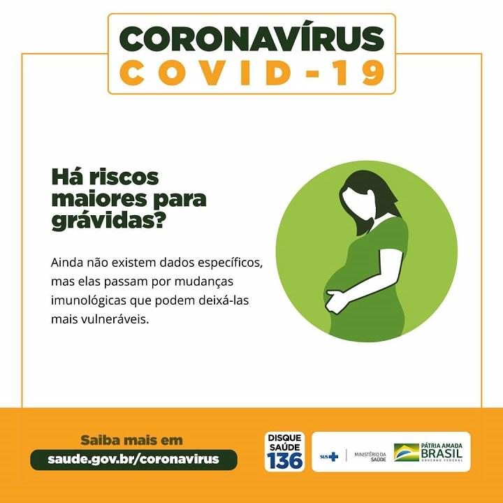 [COVID-19] Há riscos maiores para grávidas?